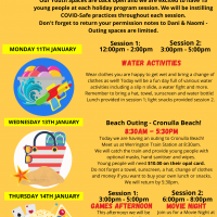 WYS January holidays